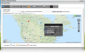 Aretas Cloud V1 Map View