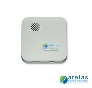 Cigarette Smoke Monitoring Aretas Sensor Networks